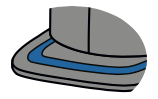 Flat patterned visor